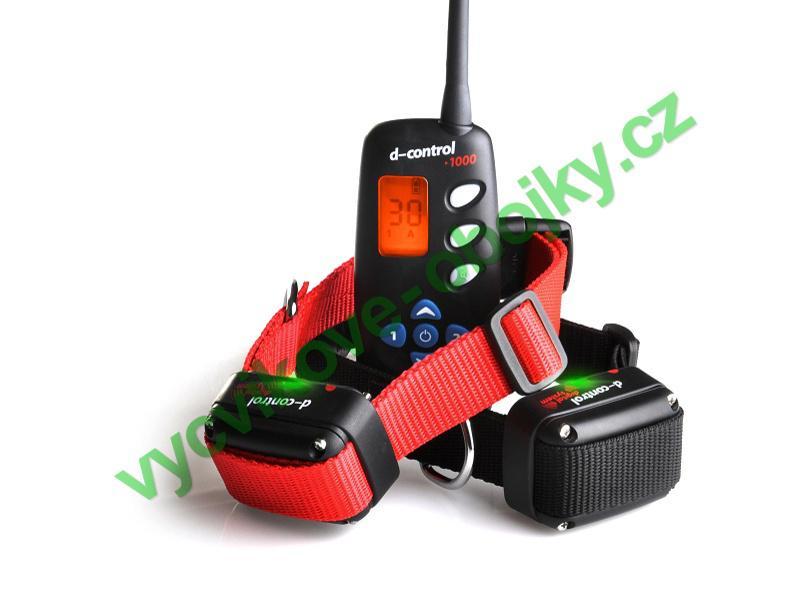 DOG Trace elektronický výcvikový obojek d-control 1002 -1000m