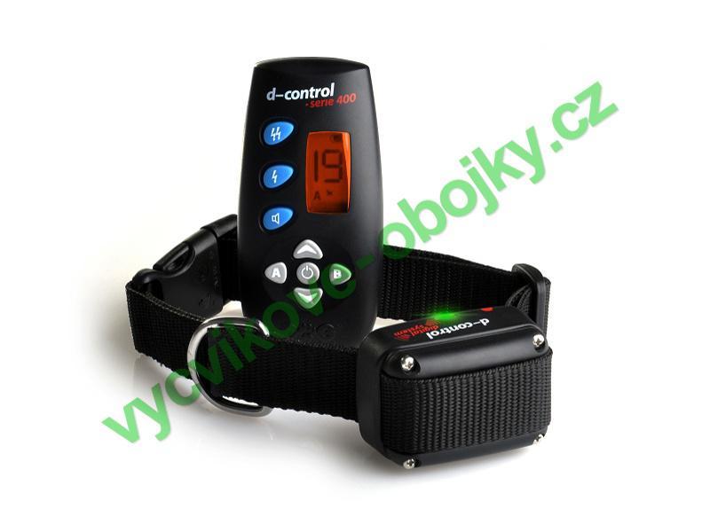DOG Trace elektronický výcvikový obojek d-control 400 - 250 m