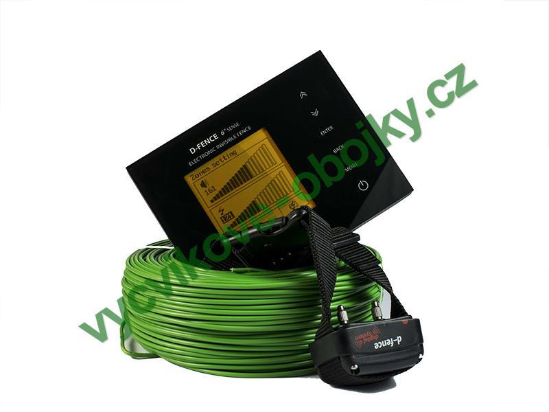 DOG Trace elektronický výcvikový obojek d-fence 2002 - černý generátor