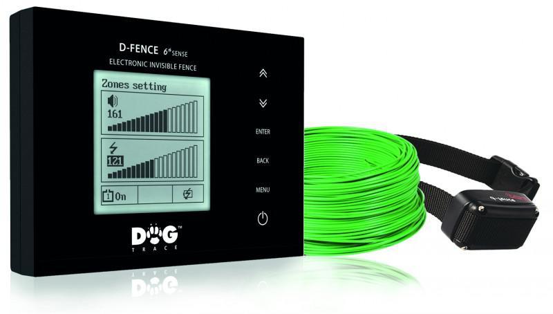 DOG Trace elektronický výcvikový obojek d-fence 300m sada - se zál. zdrojem
