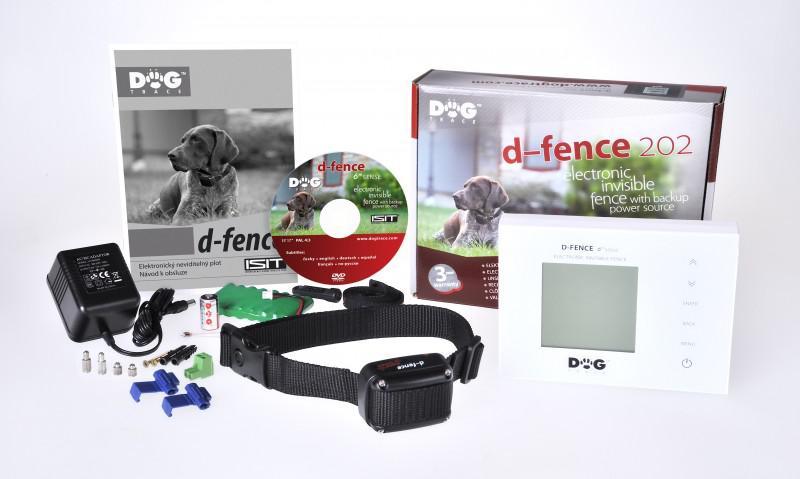 DOG Trace elektronický výcvikový obojek d-fence 202 - bílý generátor