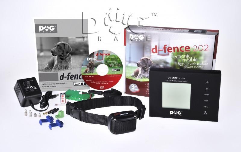 DOG Trace elektronický výcvikový obojek d-fence 202 - černý generátor