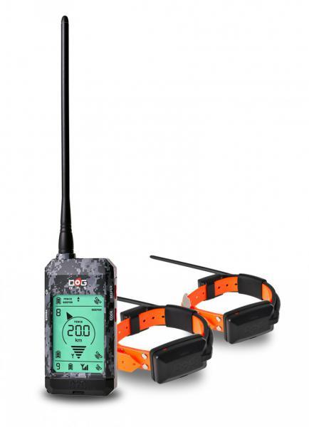 DOG Trace elektronický výcvikový obojek DOG GPS X22 - sada pro 2 psy